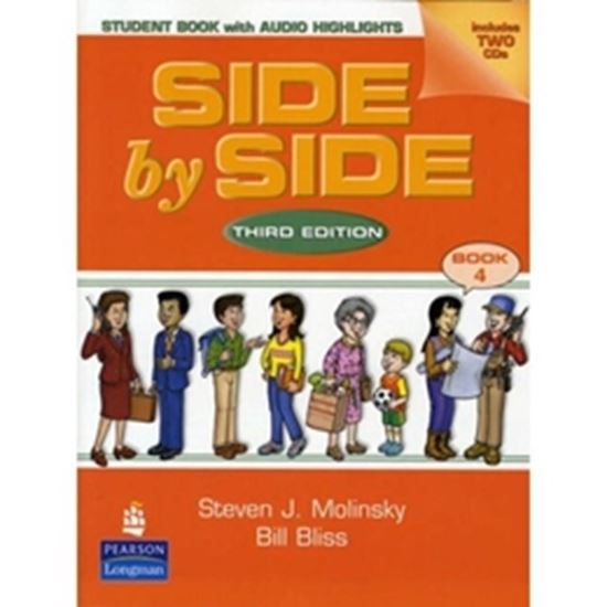 Picture of SIDE BY SIDE SB 4 WITH CD THIRD EDITION