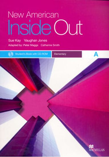 Picture of NEW AMERICAN INSIDE OUT ELEMENTARY SB A WITH CD-ROM