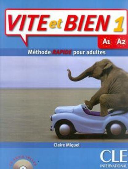 Picture of VITE ET BIEN 1 - A1/A2 LIVRE D´ELEVE + CD AUDIO