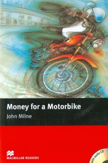 Picture of MONEY FOR MOTORBIKE WITH CD - MACMILLAN READERS BEGINNER