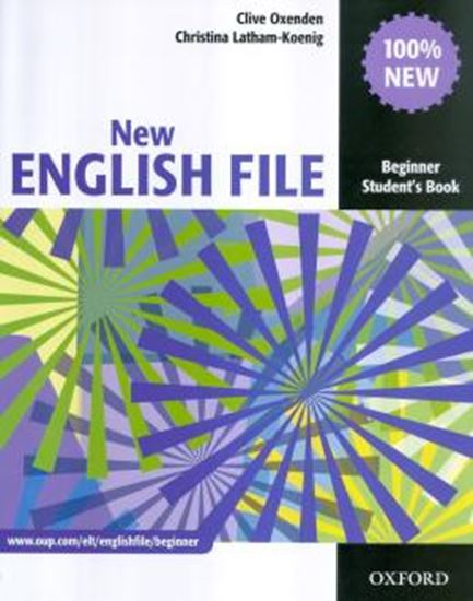 Picture of NEW ENGLISH FILE BEGINNER STUDENT BOOK