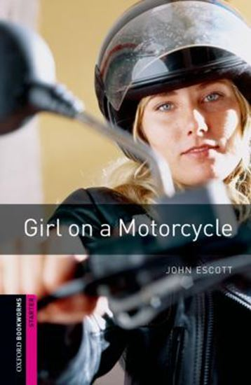 Picture of GIRL ON A MOTORCYCLE