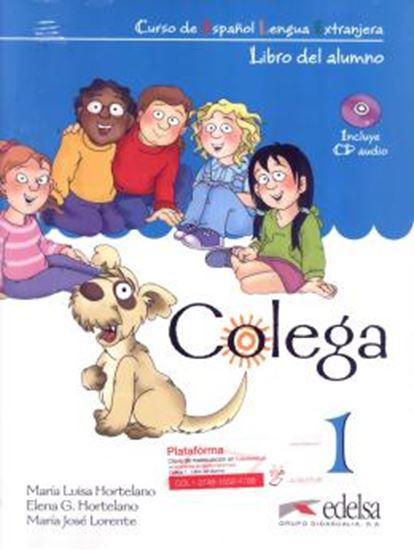Picture of COLEGA 1 - LIBRO DEL ALUMNO + EJERCICIOS + CD AUDIO