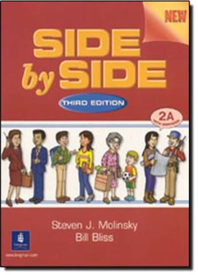 Picture of SIDE BY SIDE 2A - STUDENT`S BOOK WITH WORKBOOK (THIRD EDITION)