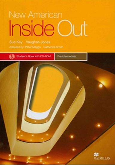 Picture of NEW AMERICAN INSIDE OUT PRE-INTERMEDIATE - STUDENT´S BOOK WITH CD-ROM