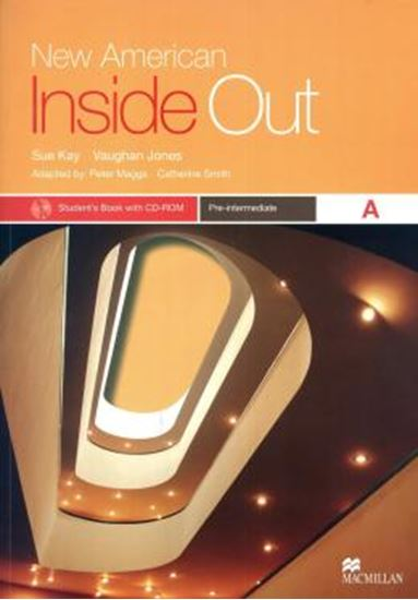 Picture of NEW AMERICAN INSIDE OUT PRE-INTERMEDIATE A - STUDENT´S BOOK WITH CD-ROM