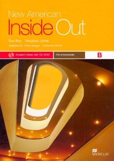 Picture of NEW AMERICAN INSIDE OUT PRE-INTERMEDIATE B - STUDENT´S BOOK WITH CD-ROM