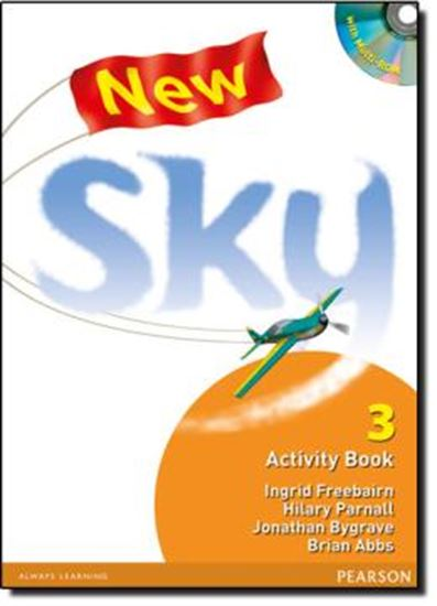 Picture of NEW SKY 3 - ACTIVITY BOOK AND MULTI-ROM