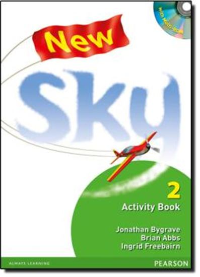 Picture of NEW SKY 2 - ACTIVITY BOOK AND MULTI ROM