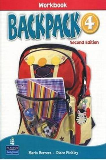 Picture of BACKPACK 4 WORKBOOK WITH AUDIO CD SECOND EDITION