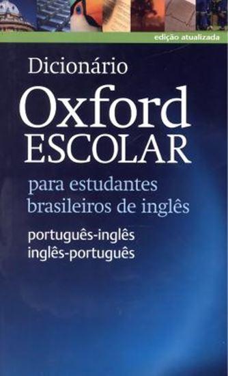 Picture of DICIONARIO OXFORD ESCOLAR - PARA ESTUDANTES BRASILEIROS DE INGLES - PORTUGUES / INGLES - INGLES / PORTUGUES WITH CD-ROM - NOVA ORTOGRAFIA