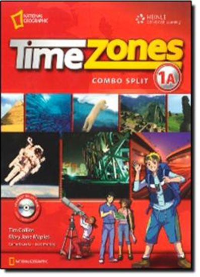 Picture of TIME ZONES - STUDENT´S BOOK COMBO SPLIT 1A WITH MULTI-ROM