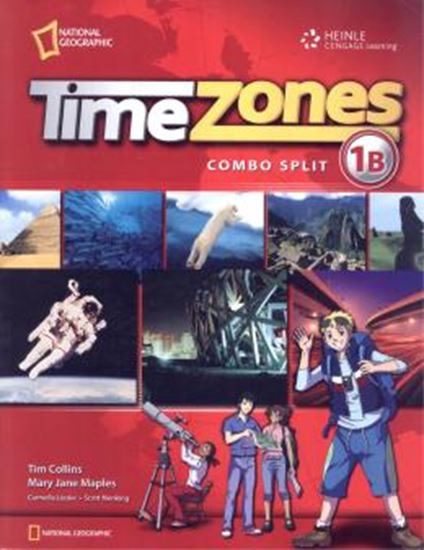 Picture of TIME ZONES - STUDENT´S BOOK COMBO SPLIT 1B WITH MULTI-ROM