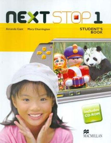 Picture of NEXT STOP 1 - STUDENTS BOOK WITH CD-ROM