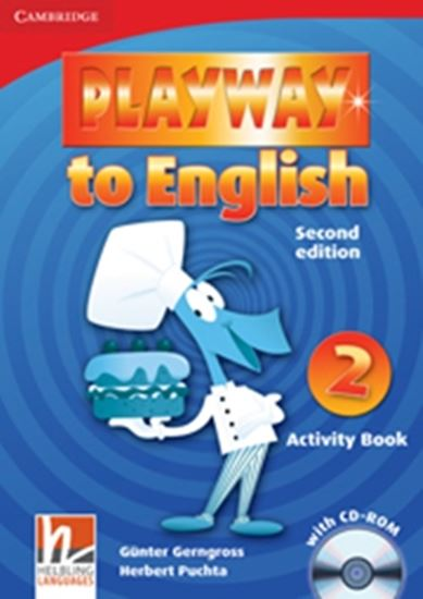 Picture of PLAYWAY TO ENGLISH 2 - ACTIVITY BOOK WITH CD-ROM - 2ND ED