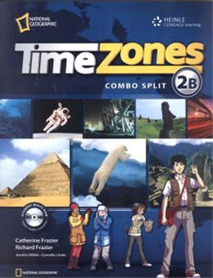 Picture of TIME ZONES STUDENT´S BOOK COMBO SPLIT 2B WITH MULTI-ROM