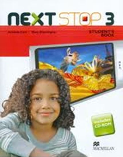 Picture of NEXT STOP 3 - STUDENTS BOOK WITH CD-ROM
