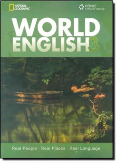 Picture of WORLD ENGLISH 3 SB WITH CD-ROM