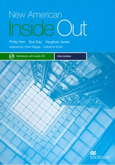 Picture of NEW AMERICAN INSIDE OUT INTERMEDIATE - WORKBOOK WITH AUDIO CD