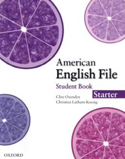 Picture of AMERICAN ENGLISH FILE STARTER SB