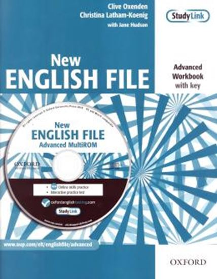 Picture of NEW ENGLISH FILE ADVANCED WB - WITH MULTIROM