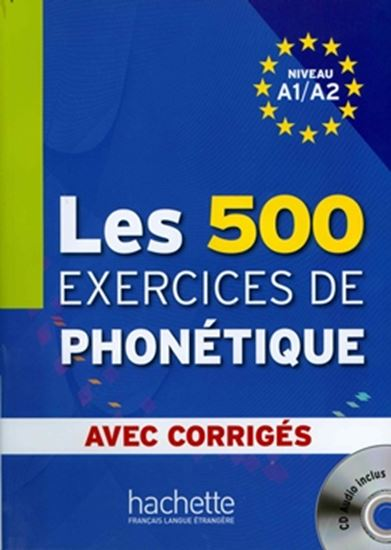 Picture of LES 500 EXERCICES DE PHONETIQUE CD AUDIO INCLUS