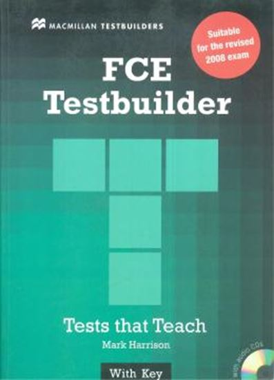 Picture of FCE TESTBUILDER TESTS THAT TEACH WITH KEY WITH AUDIO CD