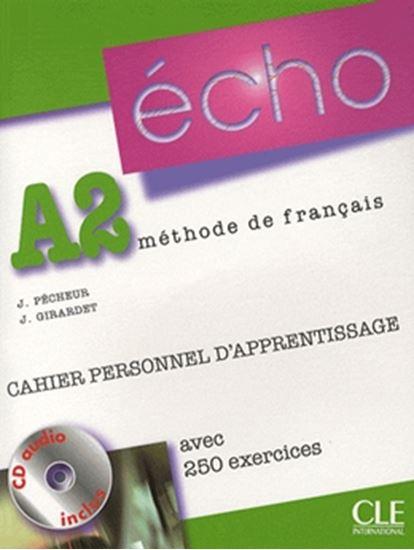 Picture of ECHO A2 CAHIER PERSONNEL D´APPRENTISSAGE (NOUVELLE VERSION) - CD AUDIO + CORRIGES