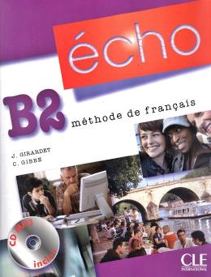 Picture of ECHO B2 - LIVRE D´ELEVE PORTFOLIO + CD MP3 -  1E ED