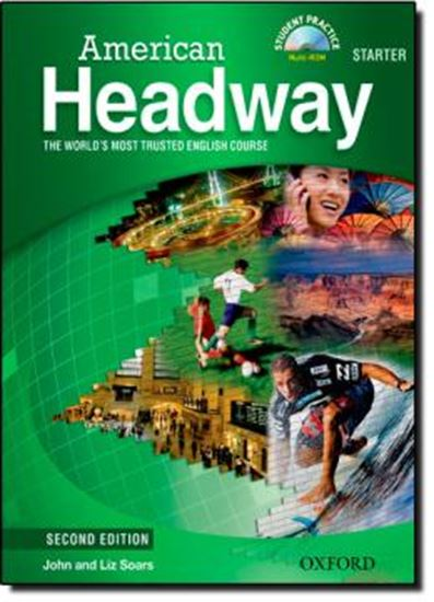 Picture of AMERICAN HEADWAY STARTER SB WITH MULTIROM AND VIDEO - SECOND EDITION
