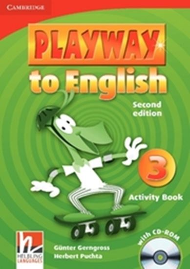 Picture of PLAYWAY TO ENGLISH 3 - ACTIVITY BOOK WITH CD-ROM - 2ND EDITION