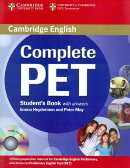 Picture of COMPLETE PET STUDENT´S BOOK WITH ANSWERS WITH CD-ROM