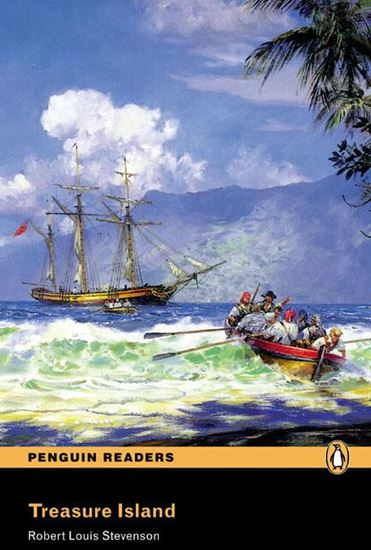 Picture of TREASURE ISLAND - PENGUIN READERS LEVEL 2 - BOOK WITH AUDIO CD