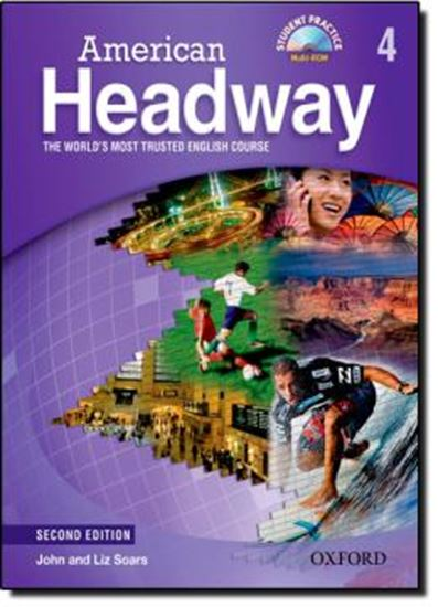 Picture of AMERICAN HEADWAY 4 SB WITH MULTIROM AND VIDEO - SECOND EDITION