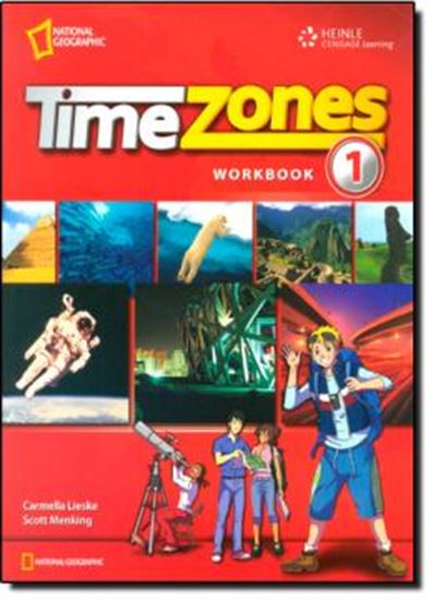 Picture of TIME ZONES 1 WORKBOOK