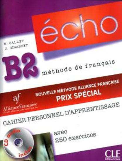 Picture of ECHO B2 - CAHIER PERSONNEL D´APPRENTISSAGE