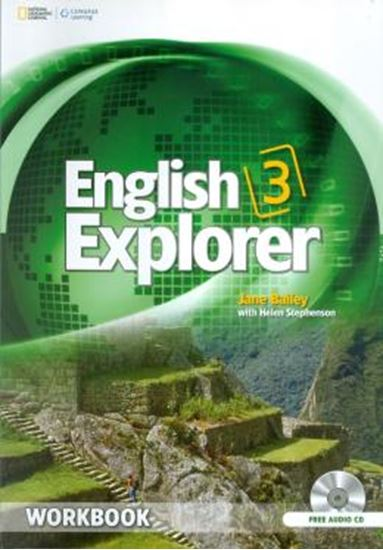 Picture of ENGLISH EXPLORER 3 WORKBOOK + CD