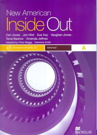 Picture of NEW AMERICAN INSIDE OUT ADVANCED WORKBOOK AWITH AUDIO CD (W/KEY)
