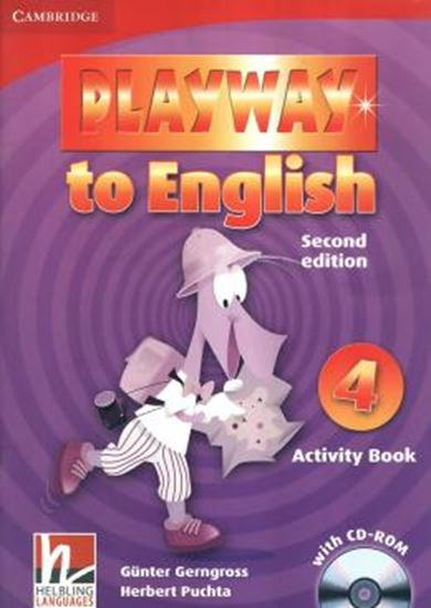 Picture of PLAYWAY TO ENGLISH 4 WB - WITH CD-ROM - 2ND ED
