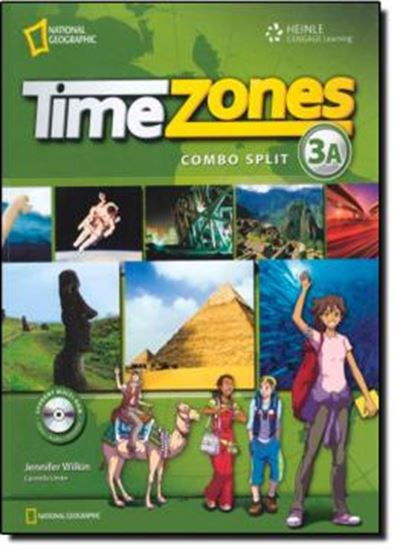 Picture of TIME ZONES 3A STUDENST´S BOOK WITH MULTI-ROM
