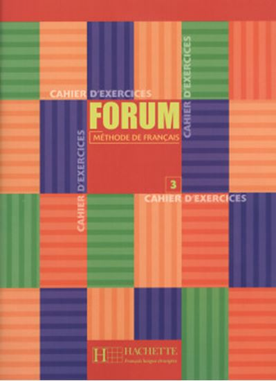 Picture of FORUM CAHIER D´EXERCICES 3