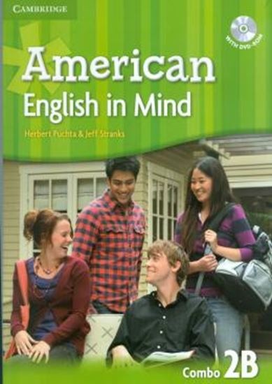 Picture of AMERICAN ENGLISH IN MIND 2 B SB/WB/DVD ROM