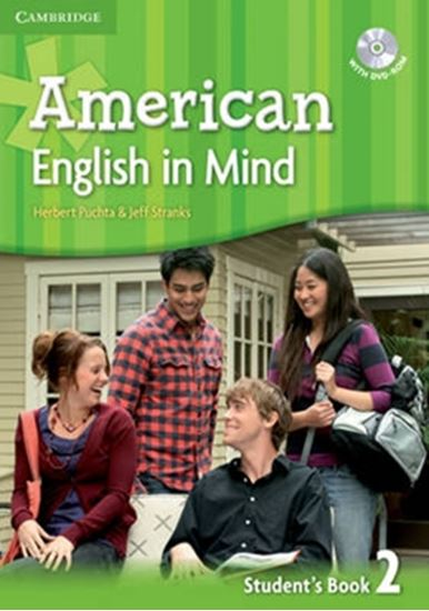 Picture of AMERICAN ENGLISH IN MIND 2 SB W/DVD ROM