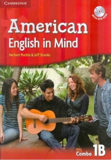 Picture of AMERICAN ENGLISH IN MIND 1 B SB/WB/DVD ROM