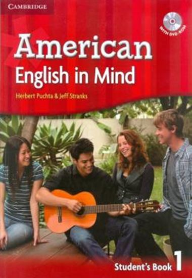 Picture of AMERICAN ENGLISH IN MIND 1 SB W/DVD ROM