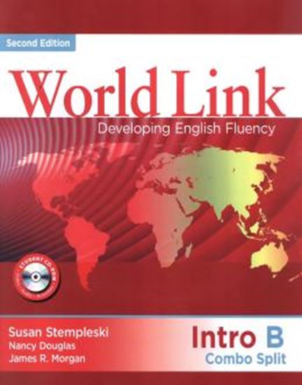 Picture of WORLD LINK INTRO B COMBO SPLIT WITH CD-ROM - 2ND ED