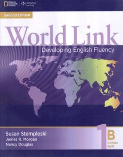 Picture of WORLD LINK 1B COMBO SPLIT WITH CD-ROM - 2ND ED