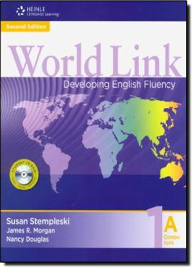Picture of WORLD LINK 1A COMBO SPLIT WITH STUDENT CD-ROM - 2ND EDITION