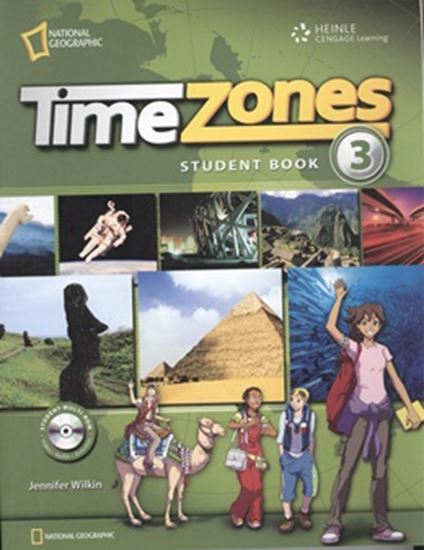 Picture of TIME ZONES 3 STUDENT´S BOOK + MULTI-ROM