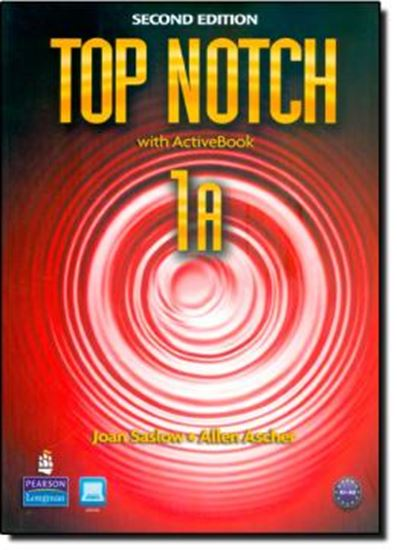 Picture of TOP NOTCH 1 SPLIT A SB &WB WITH ACTIVEBOOK CD-ROM - SECOND EDITION